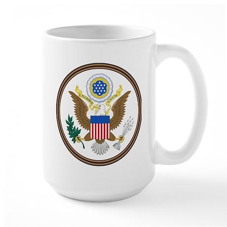 USA Seal Large Mug