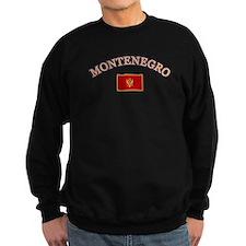 Montenegro Soccer Designs Sweatshirt