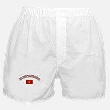 Montenegro Soccer Designs Boxer Shorts