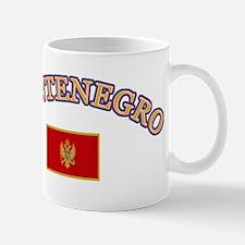Montenegro Soccer Designs Mug
