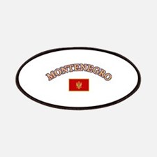 Montenegro Soccer Designs Patches