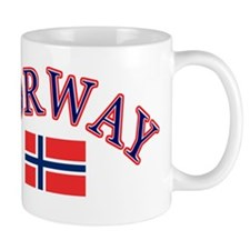Norway Soccer Designs Small Mug