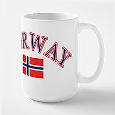 Norway Soccer Designs Large Mug