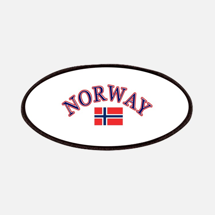 Norway Soccer Designs Patches