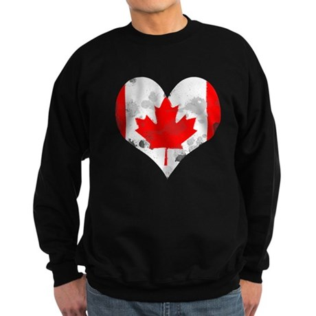 A Canadian Heart Sweatshirt (dark)