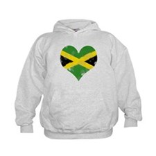 A Jamaican Heart Hoodie