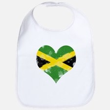 A Jamaican Heart Bib