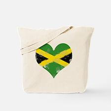 A Jamaican Heart Tote Bag