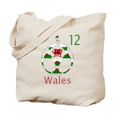 wales dragon football design 12 Tote Bag