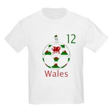 wales dragon football design 12 T-Shirt