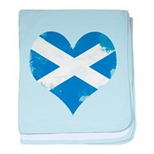 A Scottish Heart baby blanket