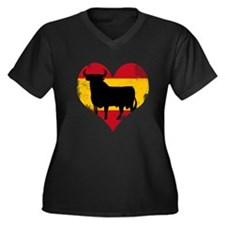 The Spanish Bull, El Toro de España Women's Plus S