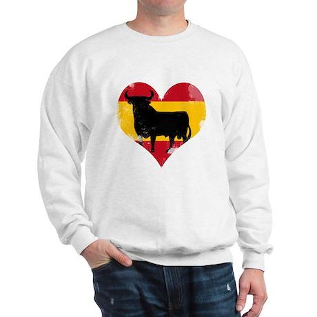 The Spanish Bull, El Toro de España Sweatshirt