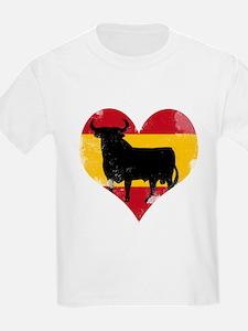 The Spanish Bull, El Toro de España T-Shirt