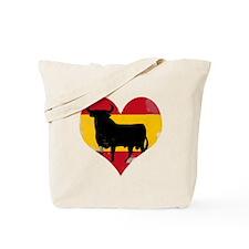The Spanish Bull, El Toro de España Tote Bag