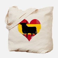 The Spanish Bull, El Toro de España Tote Bag