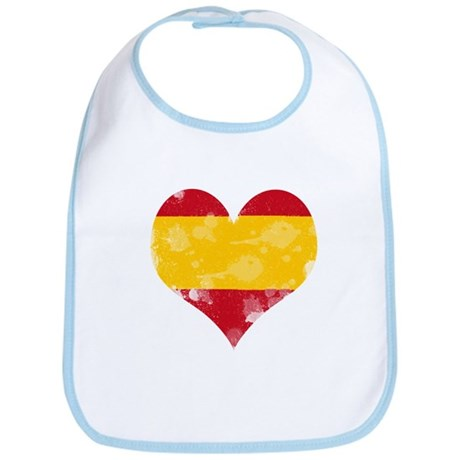 A SPANISH HEART Bib