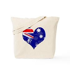 AUSTRALIA HEART Tote Bag