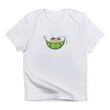 Twin Boy Girl Two Peas Infant T-Shirt
