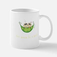 Twin Boy Girl Two Peas Mug