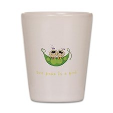 Two Peas in a Pod_Girl/Girl Shot Glass