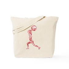 Watercolor Lift in Red Tote Bag