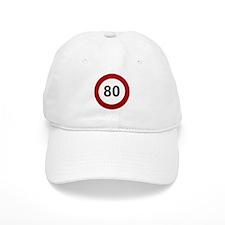 80 mph Baseball Baseball Cap