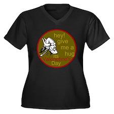 Viking Love Women's Plus Size V-Neck Dark T-Shirt