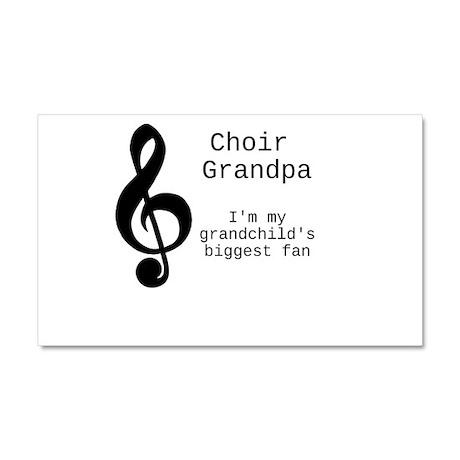 Choir Grandpa Car Magnet 20 x 12