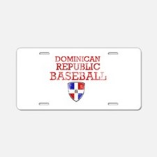 Dominican Republic Baseball Aluminum License Plate