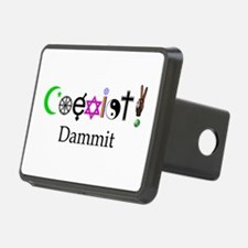 Coexist Dammit! 2 Hitch Cover