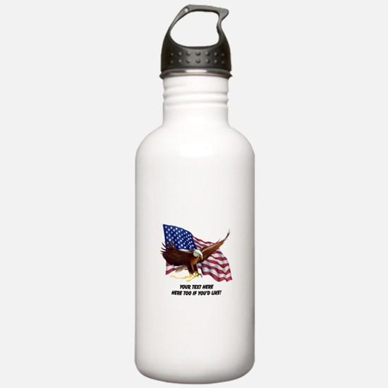 PERSONALIZED AMERICAN Water Bottle