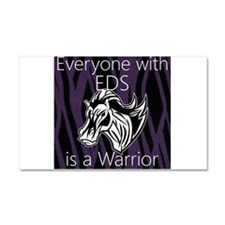 Everyone is a Warrior Car Magnet 20 x 12