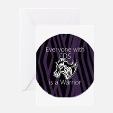 Everyone is a Warrior Greeting Card
