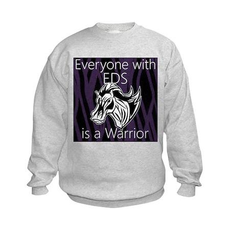 Everyone is a Warrior Kids Sweatshirt