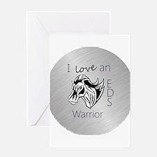 I love an EDS Warrior Greeting Card