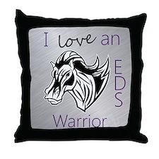 I love an EDS Warrior Throw Pillow