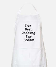 Accountant Leaving Present - Funny Apron (white)