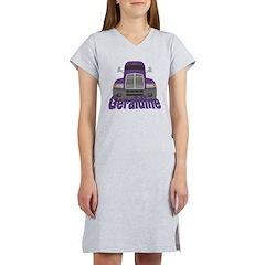 Trucker Geraldine Women's Nightshirt