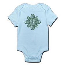 Hike Around Green Infant Bodysuit