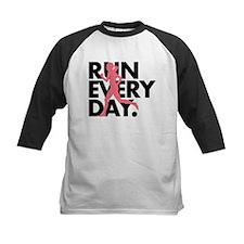 Pink/Black Run Every Day Tee