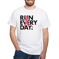 Pink/Black Run Every Day Shirt