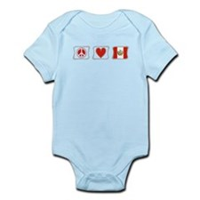 Peace, Love and Peru Infant Bodysuit