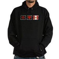 Peace, Love and Peru Hoodie