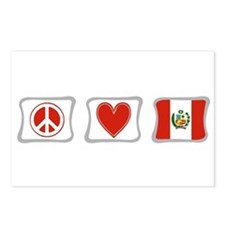 Peace, Love and Peru Postcards (Package of 8)