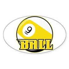 9 Ball Decal