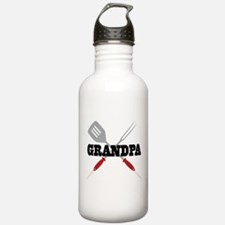 Grandpa BBQ Grilling Water Bottle