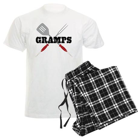Gramps BBQ Grilling Men's Light Pajamas
