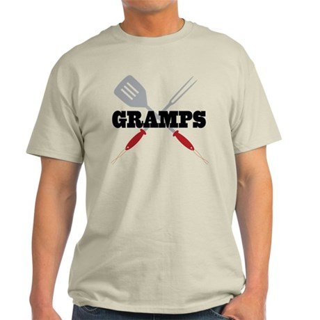 Gramps BBQ Grilling Light T-Shirt