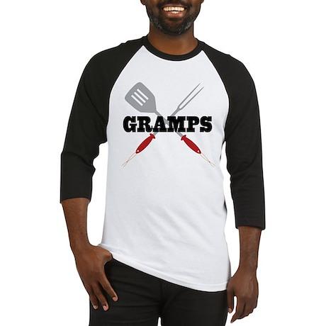 Gramps BBQ Grilling Baseball Jersey